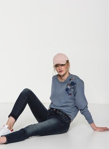 Mavi Jean Pantolon | Adriana Ankle - Super Skinny Renkli